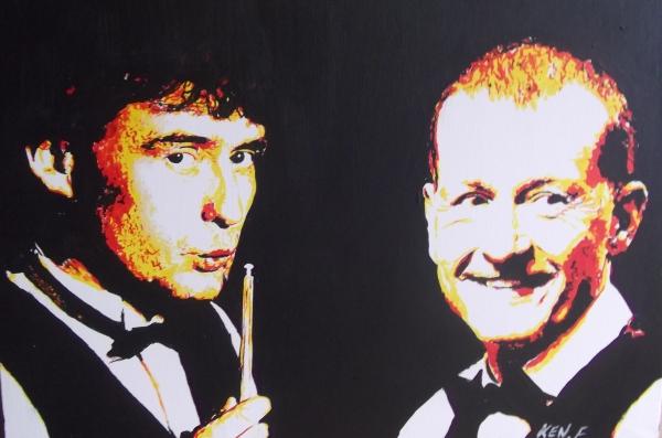 Steve Davis, Jimmy White par ken1971